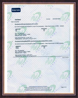 庄杰荣获RH98环保证荣誉证书