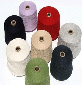 ZJ-RH18环保皂洗粉应用棉筒子纱实例